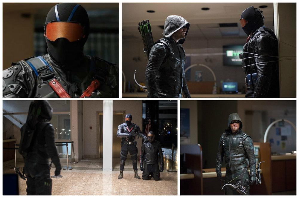 Green Arrow vs. Vigilante