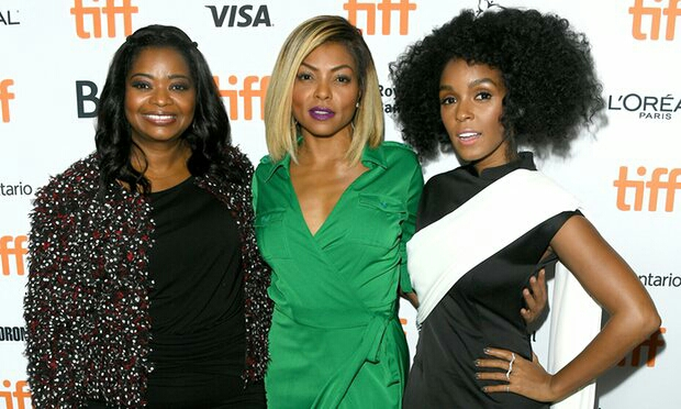 Left to right: Octavia Spencer,  Taraji P. Henson and Janelle Monae.