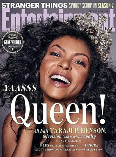 All hail the queen,  Taraji P. Henson