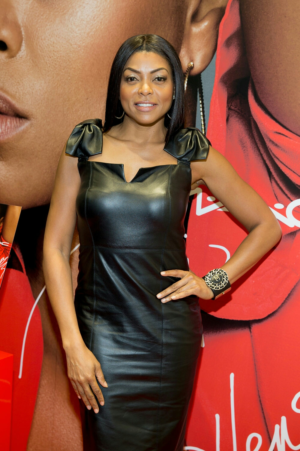 Taraji P.  Henson at the MAC Cosmetics Chicago Event.