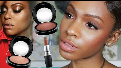 Experience the Taraji P.  Henson look with her new make-up line.