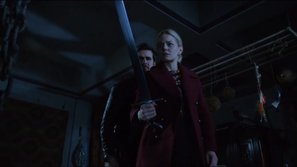 Hook and Emma find the sword that's destined to kill her.