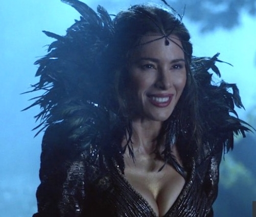 Jaime Murray as the Black Fairy.