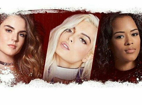 VH1 Divas and Charlie Angels: JoJo, BeBe Rexha and Serayah McNeill.