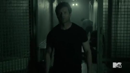 Peter Hale escaping Eichen House
