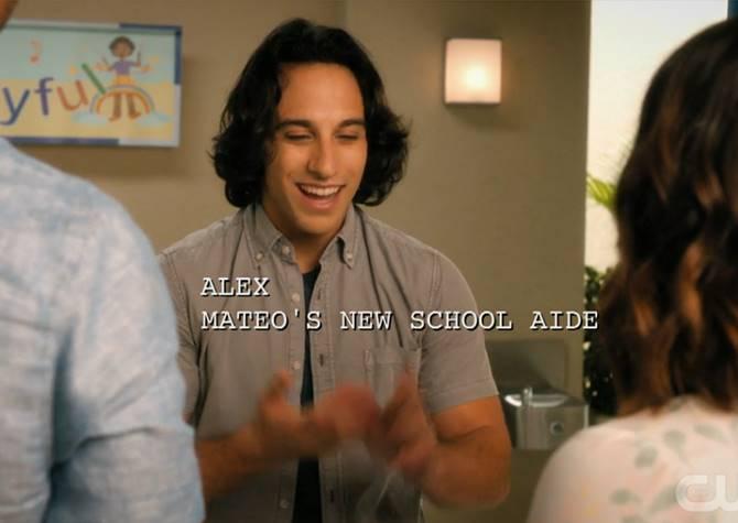 Alex, Mateo's new school aide.