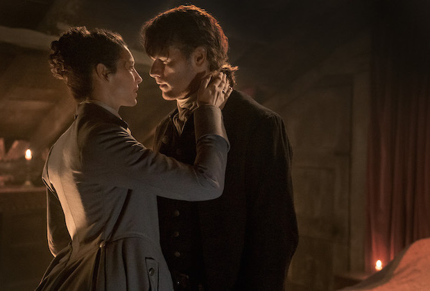 Jamie and Claire in printshop touch.jpeg