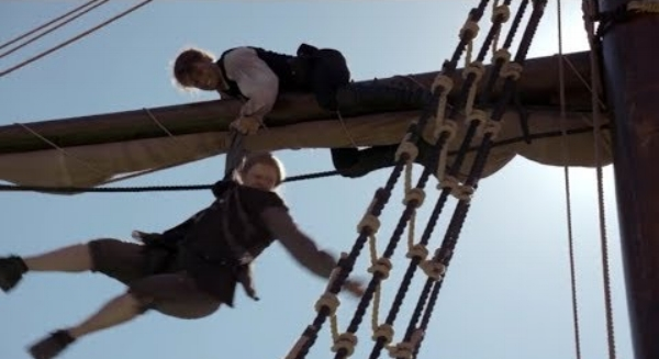 Jamie and man on rigging.jpg