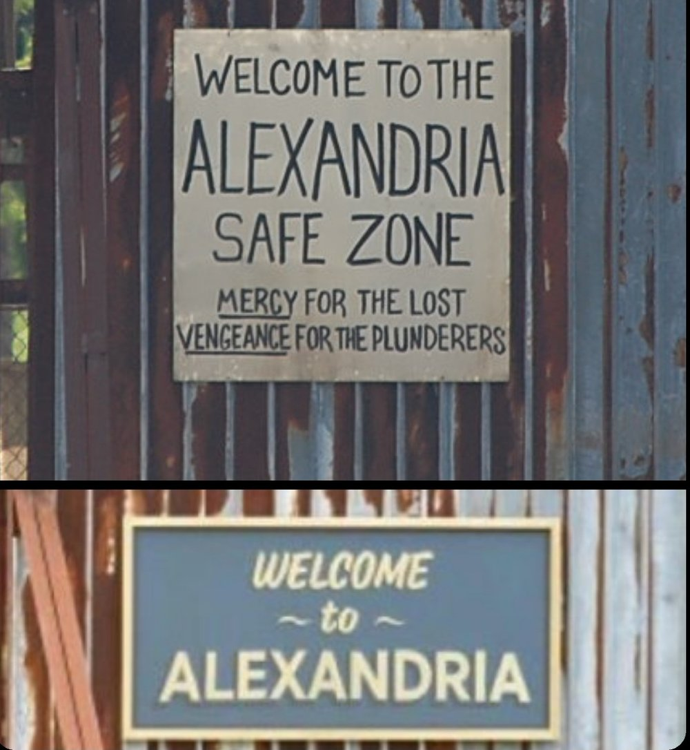 Alexandria Safe Zone Signs (Top From S8 and Earlier) (Right From S9)