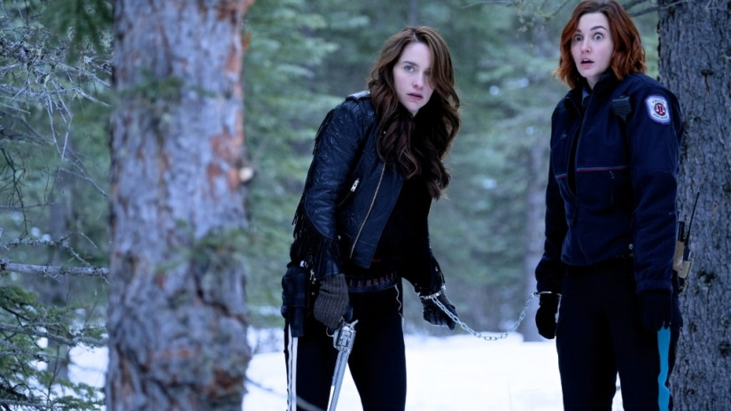 Wynonna and Nicole see axe.jpg