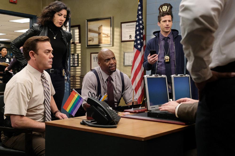 brooklyn nine nine season 1 episode 16 recap