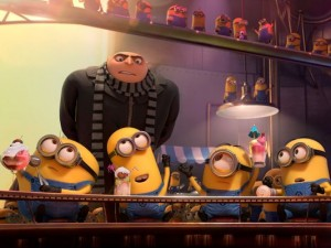 Dispicible Me 2 gru minions