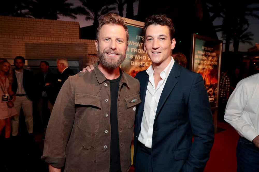 Dierks Bentley and Miles Teller