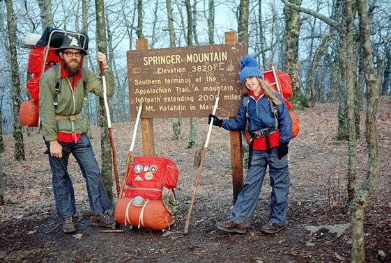 Springer Mountain elevation 3820