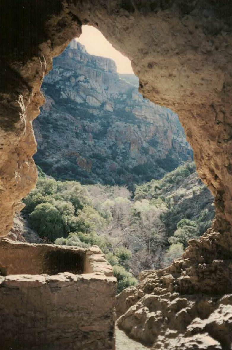 CLIFF DWELLING IN   ROGERS CANYON     SEE MORE PHOTOS >