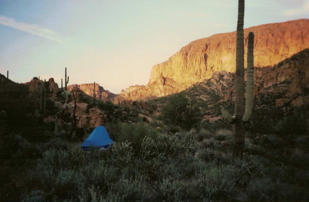 GERONIMO HEAD, SUPERSTITION WILDERNESS