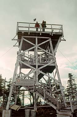 TOWER ON BROMLEY MTN. VERMONT
