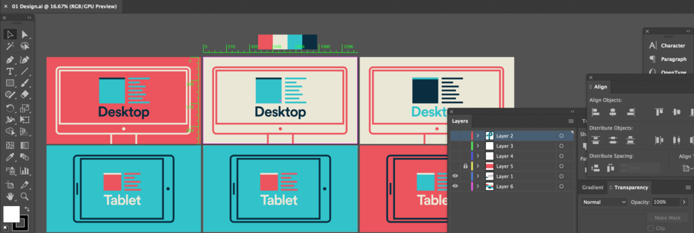Design file (not imported into AE)