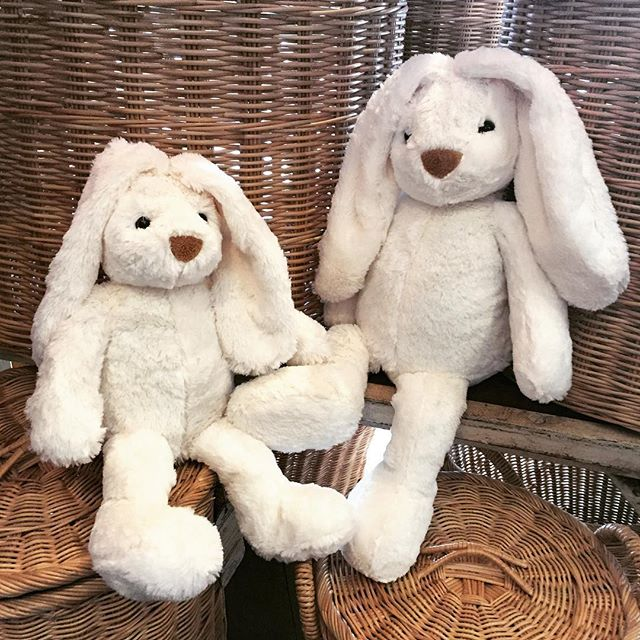 The softest bunnies you will ever snuggle with, in plenty of time for Easter