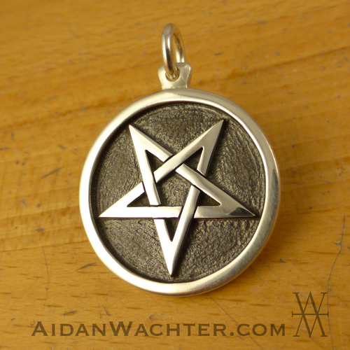 Pentagram inverted aidan wachter pentagram inverted aloadofball Choice Image