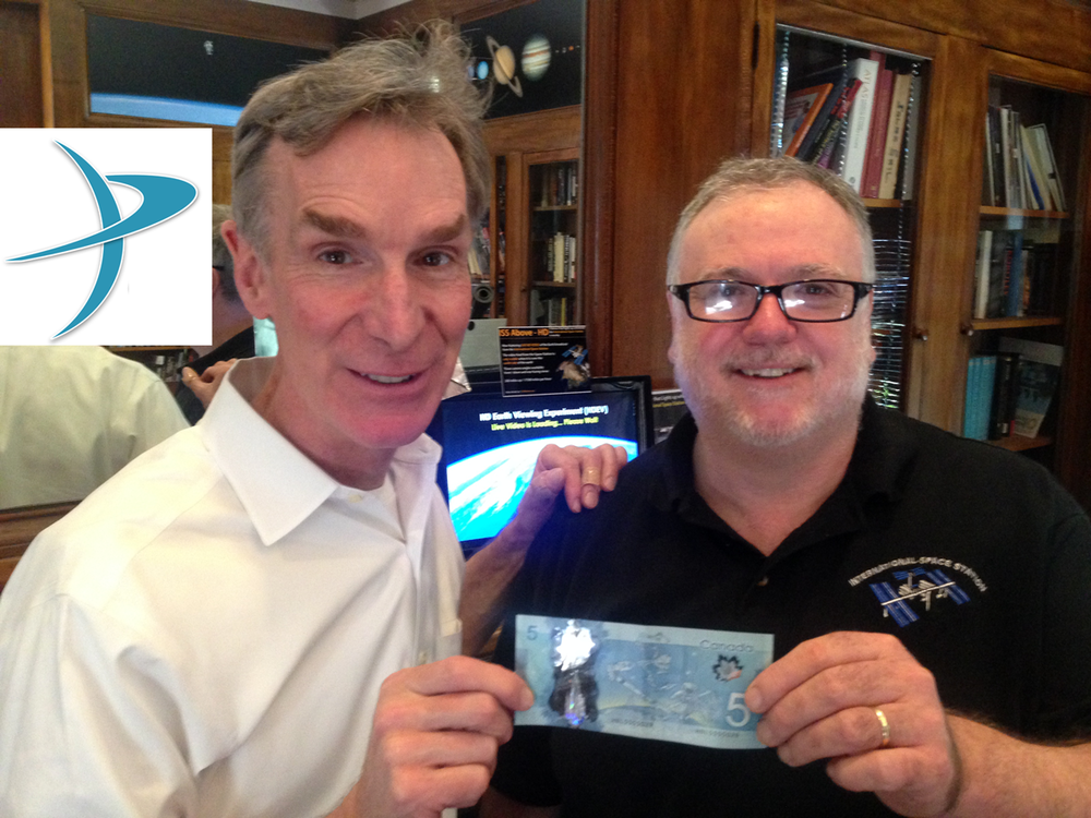 "Bill Nye is ""obsessed"" with ISS-ABOVE"