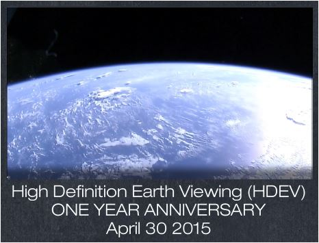 acknowledgements from iss-above customers for the views from the nasa HDEV camera project