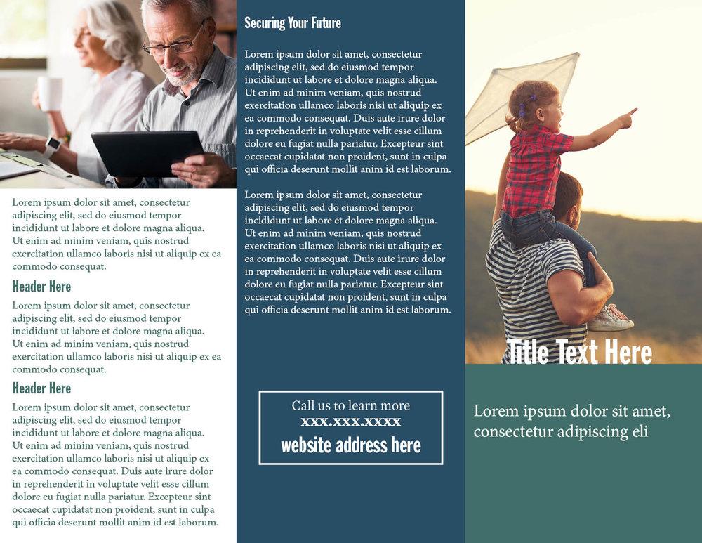 Tri-Fold Brochure (exterior)