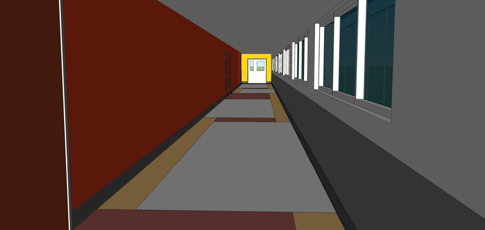 C12 -Building A Hallway Looking South.jpg