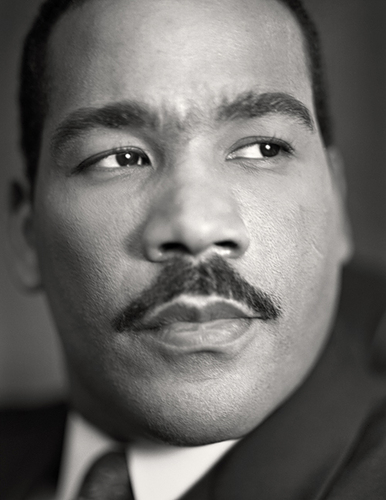 Dexter Scott King is president of the Martin Luther King Jr. Center for Non-violent Social Change and has been vegan for more than 20 years, which he has said is the logical extension of his father's philosophy regarding non-violence.