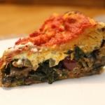 6-9-16: Veganized Chicago-Style Stuffed Pizza