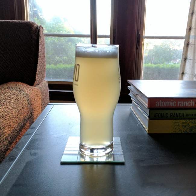 What's paler than pale? This beer.