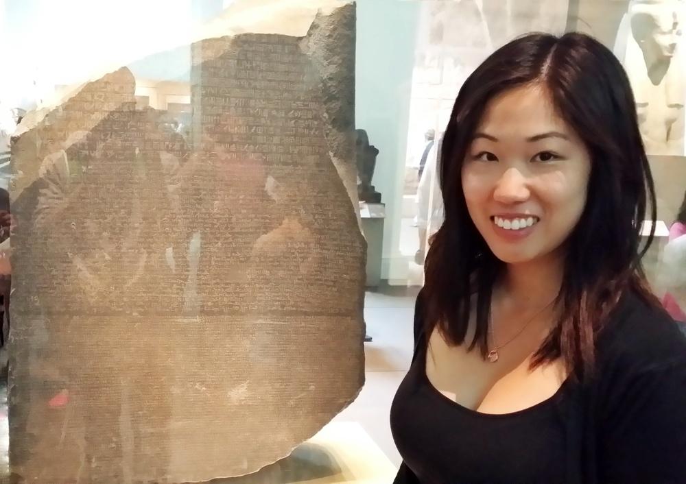 Ladies and Gentlemen, The Rosetta Stone.