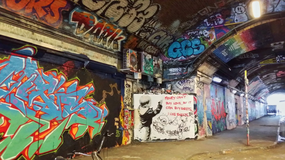 Banksy Tunnel in London, England