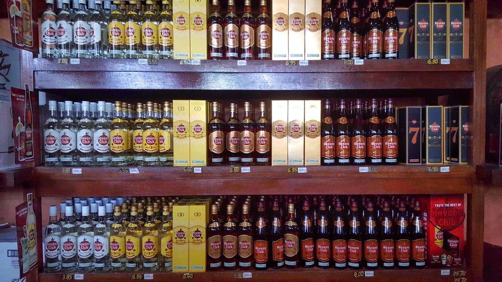 Rum in Casa Del Ron in Varadero