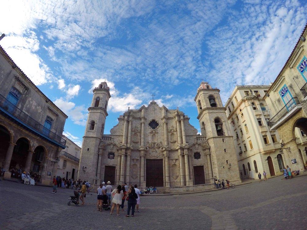 La Catedral de la Virgen Maria de la concepcion inmaculada de la Habana