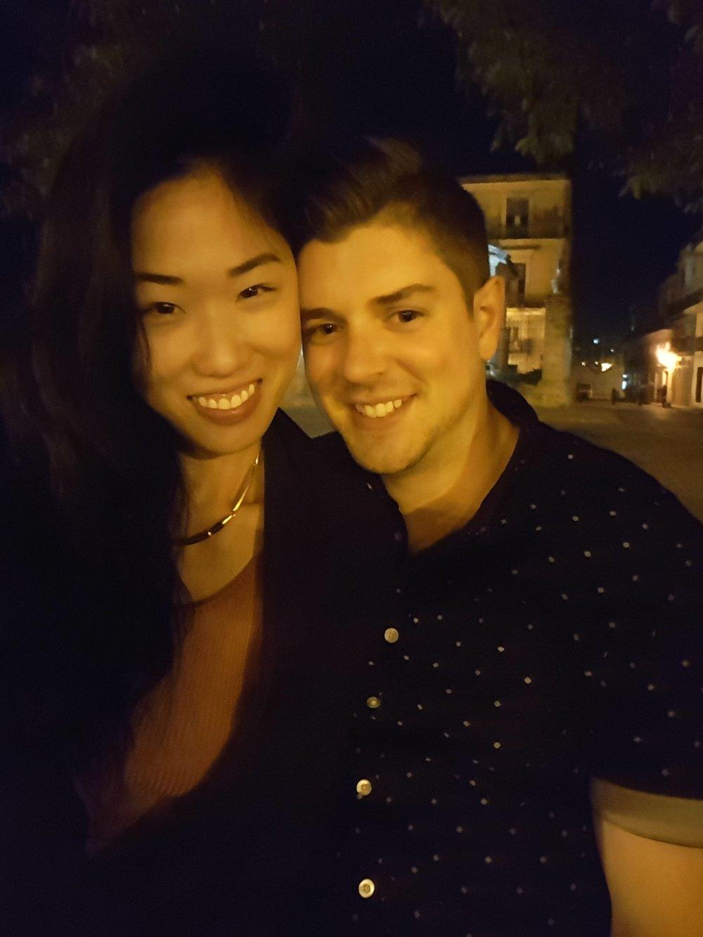 Selfie in Plaza de Armas