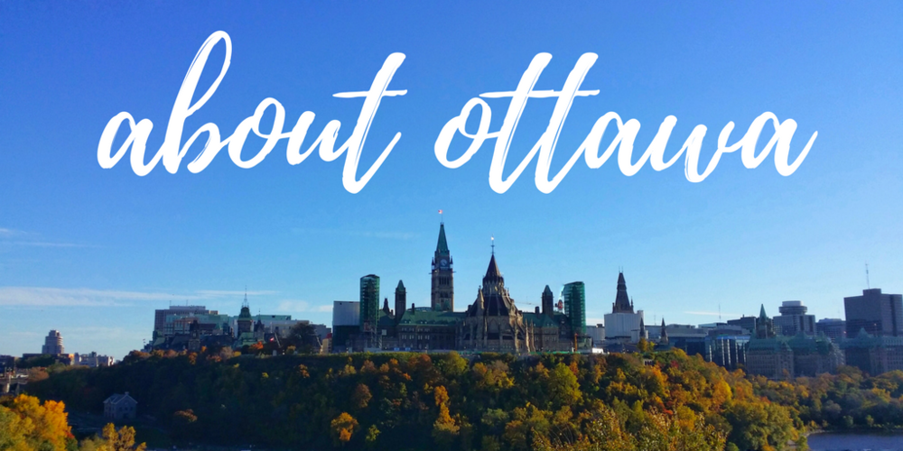 About Ottawa: Photo taken from Nepean Point of Parliament Hill in Ottawa, Canada - AIMINGFORAWE.COM