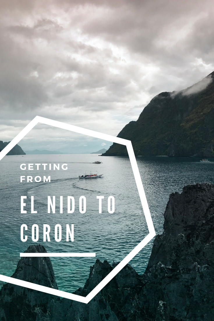 Getting from El Nido to Coron - AIMINGFORAWE.COM