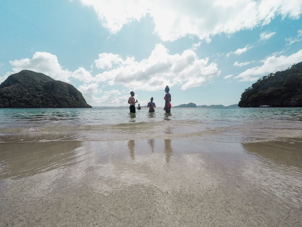 Paradise Island: Finding our own private beach on a private island