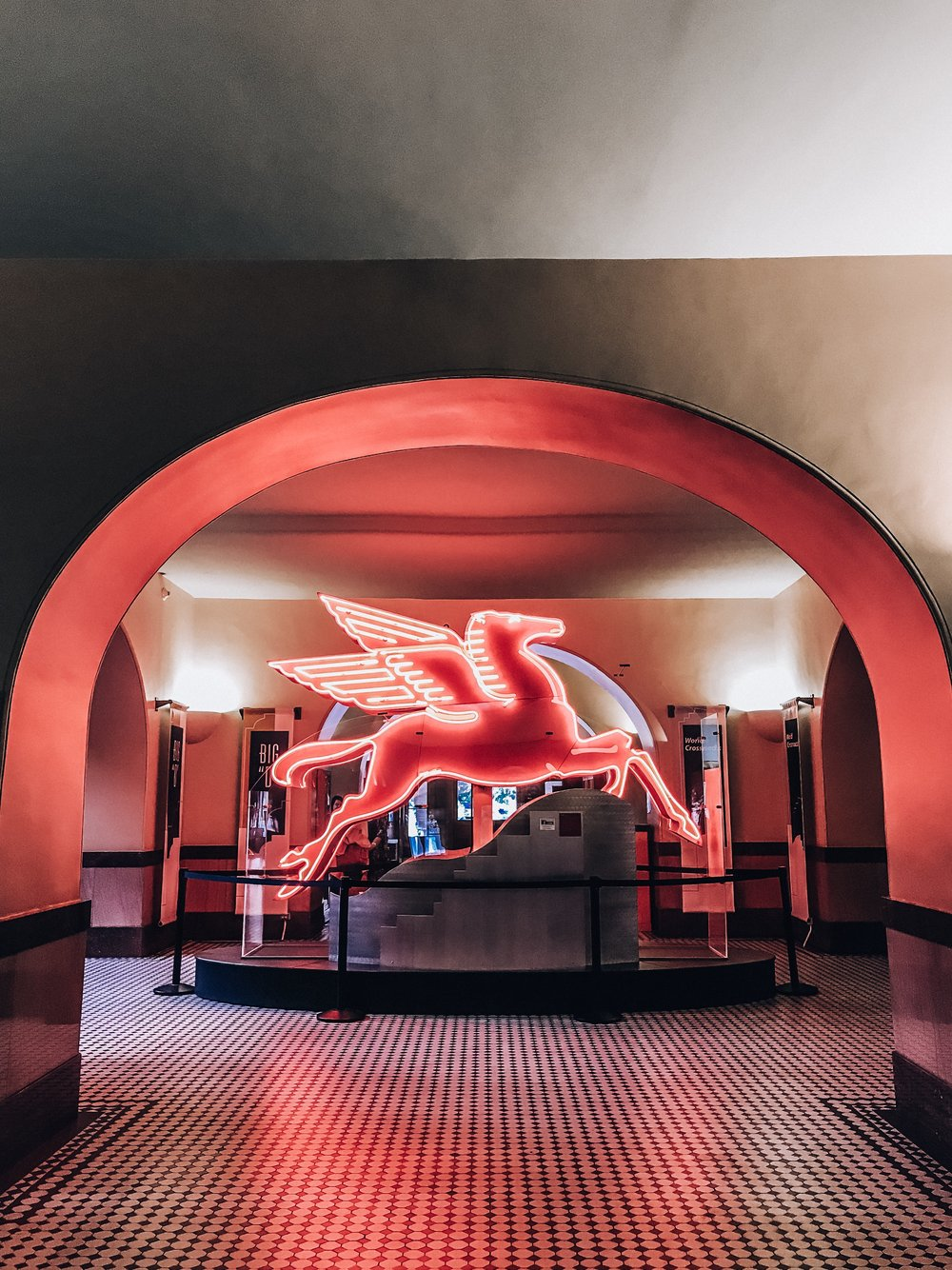 Pegasus at the Old Red Museum
