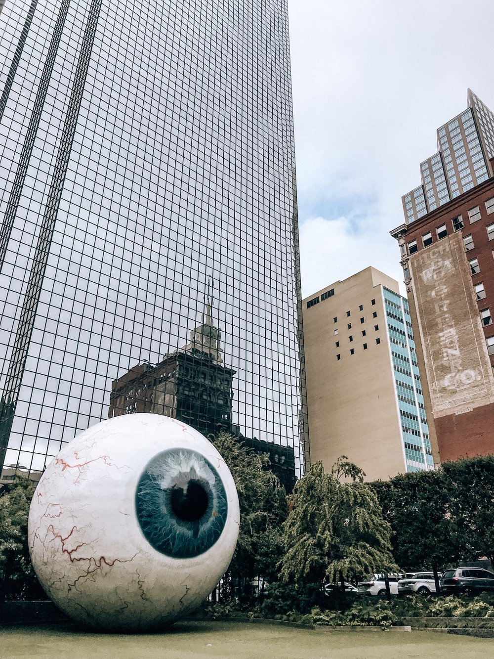 Giant Eyeball in Dallas