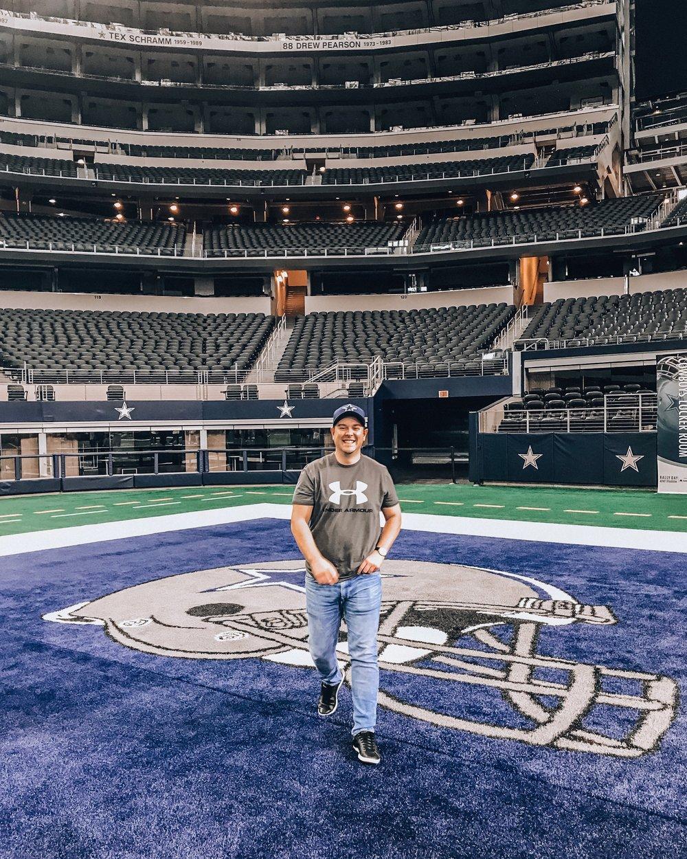 ATT Stadium in Dallas, Texas