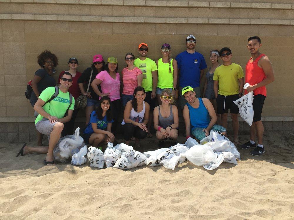 Summer philanthropy event: Neon Beach Clean!
