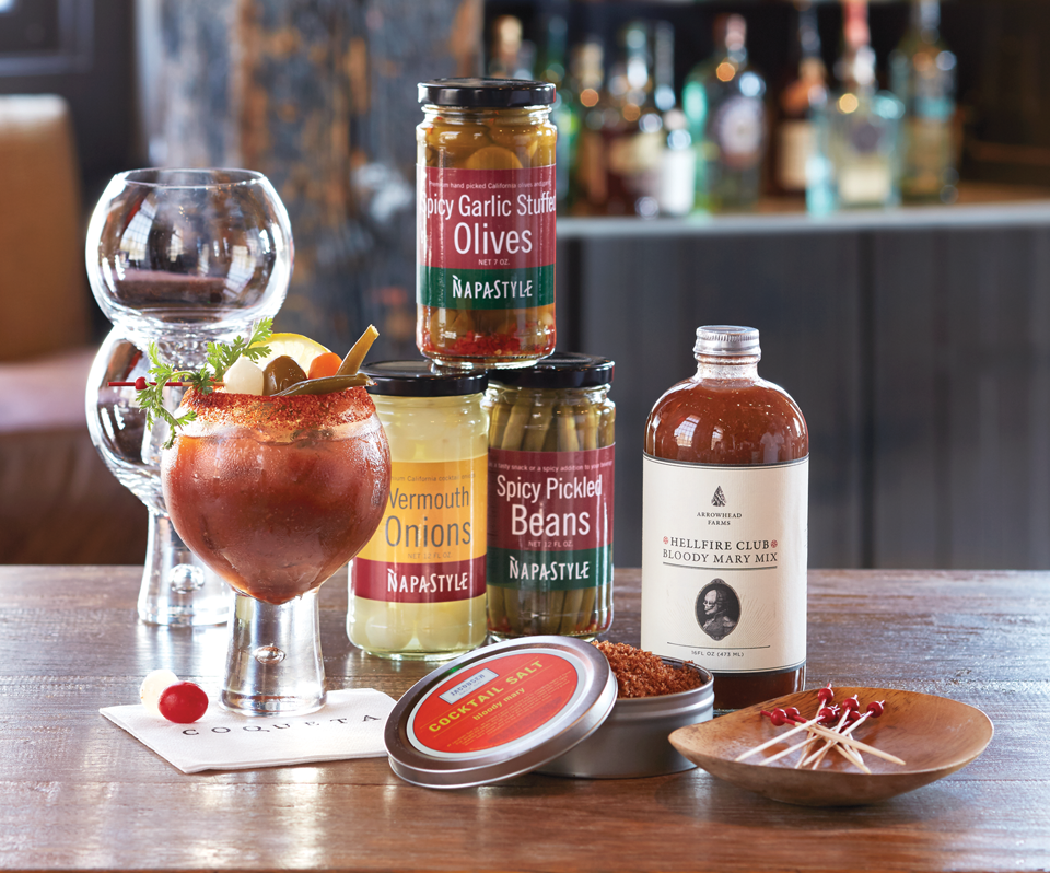 This Bloody Mary Kit from NapaStyle is a unique, outside-the-box gift for the avid host or hostess! This gift is sure to take regular brunches to the next level!