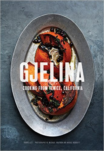 Gjelina is an incredibly popular (and amazing) restaurant in Venice, CA. The restaurant and chef have been written up so many times, that this cookbook is sure to please!