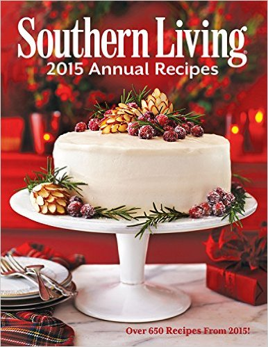 We love to collect both the annual Southern Living cookbooks and the Christmas versions!