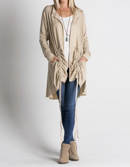 Double Drawstring Jacket