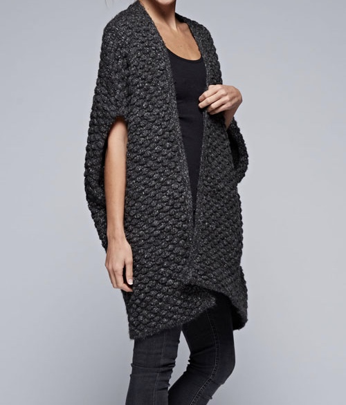 Cypress Cocoon Charcoal Vest