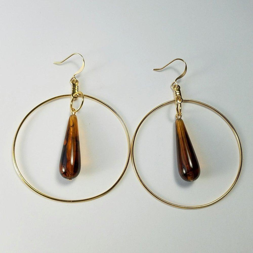 Vintage Hoop earrings