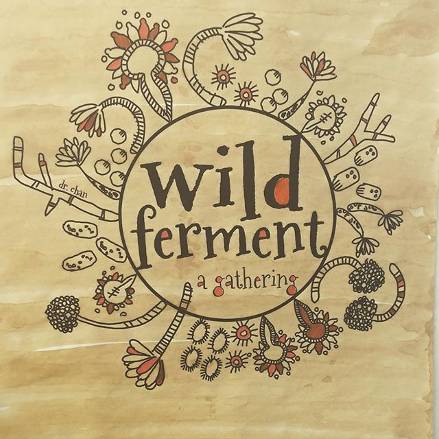 Wild Ferment - a gathering. March 6th, 2016. Wrapped up. Thanks for coming. I'm sure we'll post more photos once we're rested. Night zzzzzz.  #spreadingthe❤️ #makeitdoit #preachit #ignitethepassion #backtobasics #wildferment2016